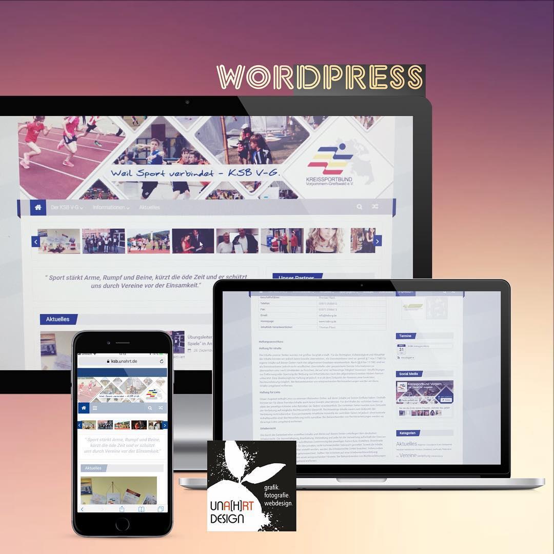 Webseite Kreissportbund